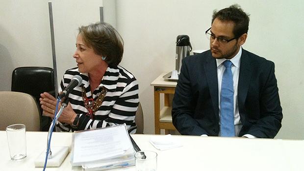 Magali Daher era analista na Seplan durante a gestão de Iris Rezende