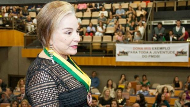 Iris Araújo pressiona Iris Rezende para disputar prefeitura e pretende disputar o Senado