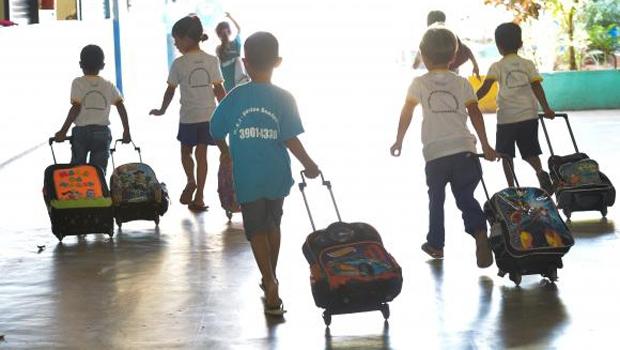 Portal do MEC diz qu e 18,6% das crianças de 4 e 5 anos estão fora das salas de aula | Foto: Elza Fiúza/Agência Brasil