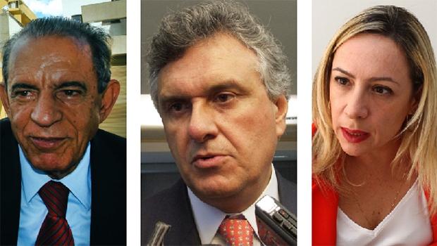 Ronaldo Caiado está entre uma aliança que envolve seu DEM, o PMDB de Iris e o PT de Adriana Accorsi