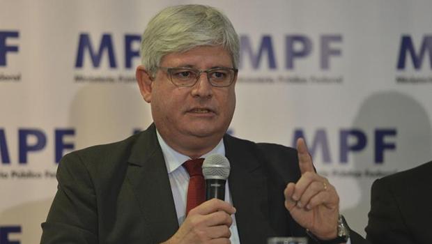 Procrador-geral, Rodrigo Janot, não quis falar com a imprensa sobre as investigações | Foto: José Cruz/Agência Brasil