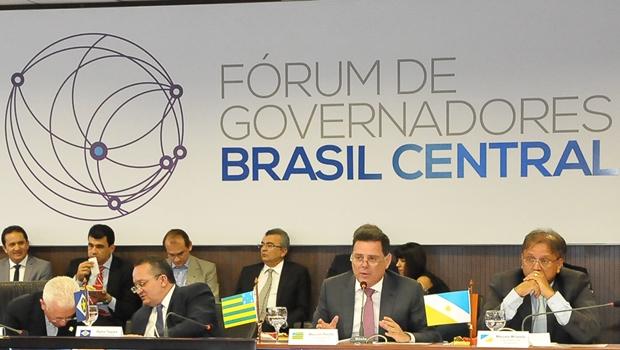 Goiânia sedia 7º Fórum de Governadores do Brasil Central