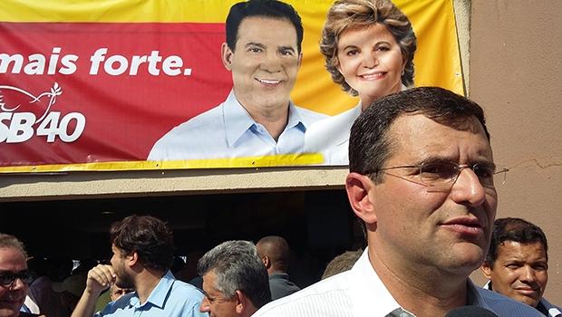 Presidente estadual do PPS, Marcos Abrão, sobrinho de Lúcia Vânia | Foto: Sarah Teófilo