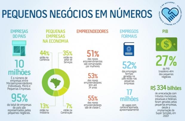 Infográfico sobre o empreendedorismo no Brasil (clique na imagem para expandi-la)