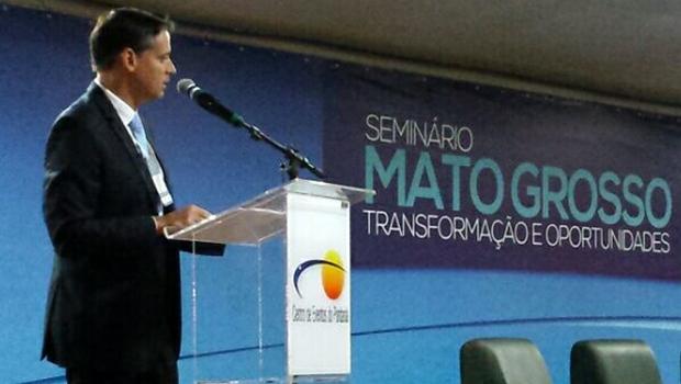 Em Cuiabá, Thiago Peixoto fala sobre os avanços na Educação em Goiás