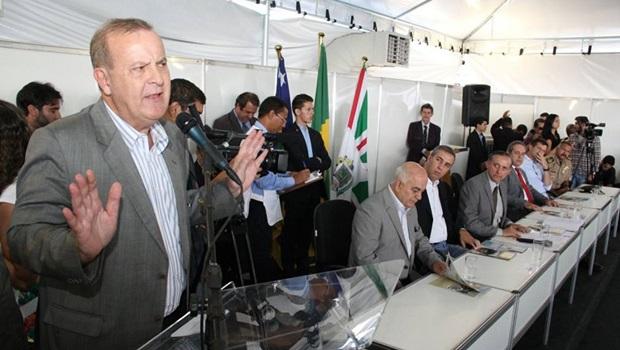 """Paulo Garcia: """"Para o BID, Macambira-Anicuns é o projeto mais importante do planeta"""""""