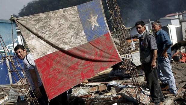 Terremoto que atingiu o Chile neste ano assustou população, já traumatizada pelo de 2010 | Foto: Victor Rojas
