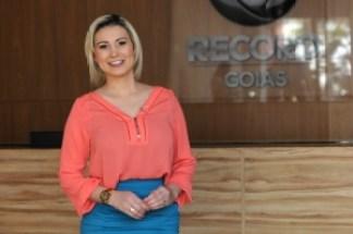 Andressar recebeu o Jornal Opção na sede da Record Goiás | Foto: Renan Aciolly