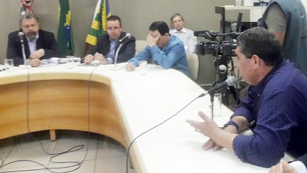 Ex-sócio da J. Virgílio presta depoimento na CEI | Foto: Thais Borges