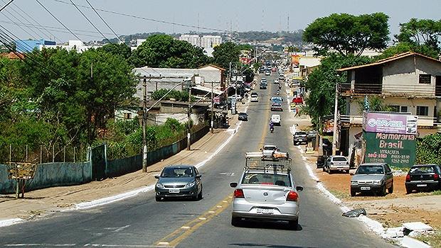 Avenida Mangalô, Região Noroteste, em Goiânia. Cidade ficou na 11ª colocação na lista | Marcello Dantas
