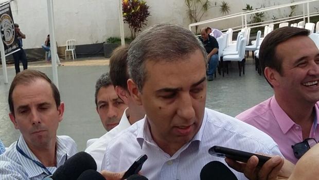 Vice-governador José Eliton concede entrevista | Foto: Sarah Teófilo