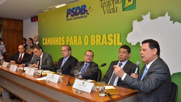 Governador discursa durante o encontro | Foto: Eduardo Ferreira