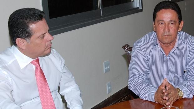 Marconi e o prefeito de Santa Helena, Judson Lourenço