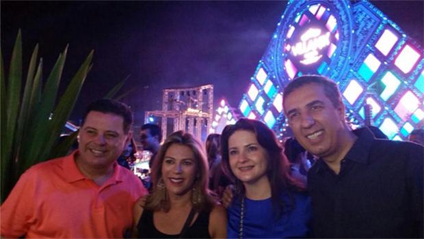 Governador Marconi Perillo marca presença no Villa Mix