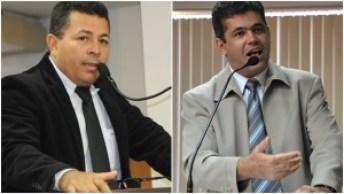 Vereadores Milton Néris e José do Lago: os maiores defensores de Amastha