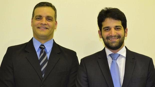 Fábio Velozo e Paulo Henrique Guimarães: adeus ao PMDB | Foto: Câmara de Rio Verde