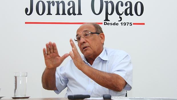 """Roberto Balestra: """"Eu não veto o senador Wilder Morais no PP""""   Fernando Leite/Jornal Opção"""