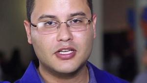 Presidente estadual do Pros, Rodrigo Melo | Foto: Reprodução/You Tube