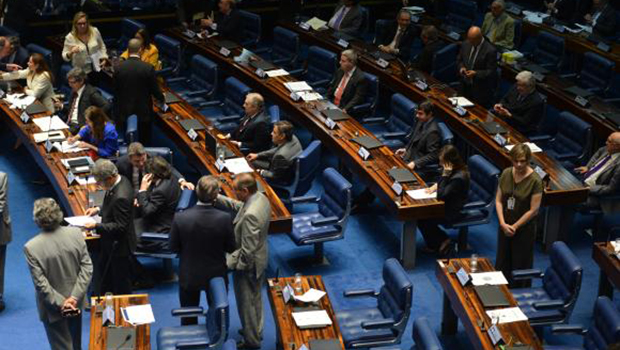 Senado proíbe doação de empresas em votação apertada