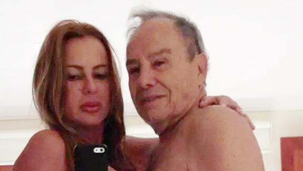 Vazam fotos nuas do ator Stenio Garcia e da esposa