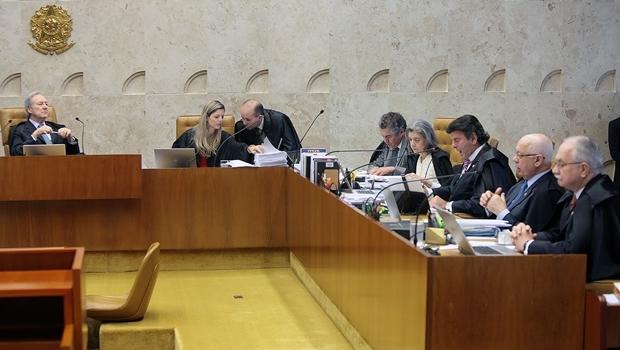 Sessão que decidiu sobre o financiamento privado | Foto: Nelson Jr. / SCO / STF