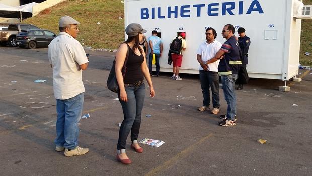 Secretário Jeovalter Correia, auxiliares e fiscais durante operação no domingo (6) | Foto: Prefeitura de Goiânia