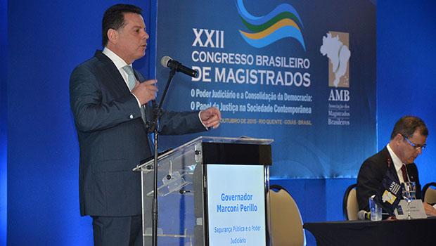 Marconi fala sobre os avanços da Segurança Públicaem Goiás