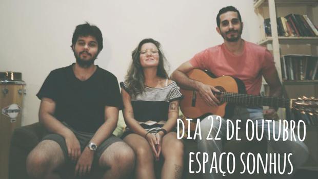 Noite de poesia musicada: Bárbara Falcão e músicos se apresentam no Espaço Sonhus