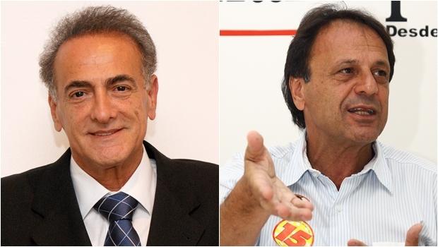 Jardel Sebba e Adib Elias| Fotos: Fernando leite/Jornal Opção
