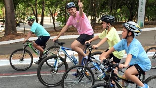 Secretário Andrey Azeredo é também cicloativista   Foto: reprodução