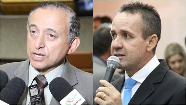 Tucanos Anselmo Pereira (esq) e Geovani Antônio | Alberto Maia/Câmara de Goiânia