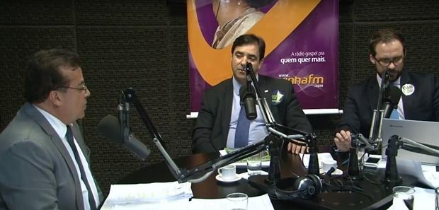 Debate teve momentos acalorados | Foto: reprodução / Diário de Goiás