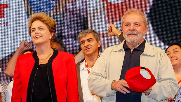 Dilma Rousseff e Lula da Silva: o ex-presidente e a presidente alegam que não estão envolvidos no escândalo investigado pela Operação Lava Jato no assalto à estatal Petrobrás, mas afinal o país é governado ou não pelo PT?