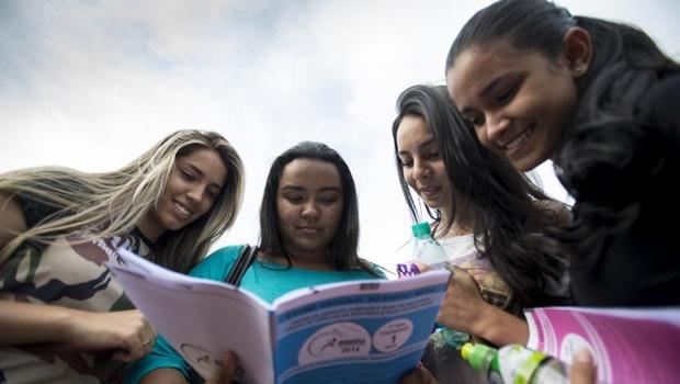 Mais de sete milhões de estudantes fazem Enem neste fim de semana