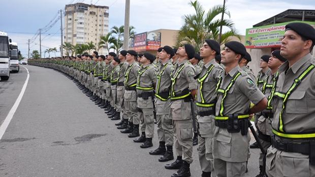 A PM é a única instituição policial presente em todos os municípíos brasileiros, ao contrário da Polícia Civil   Leandro Lopes/Secom