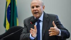 Ex-ministro da Fazenda Guido Mantega participa de audiência pública na CPI do BNDES na Câmara dos Deputados | Fabio Rodrigues Pozzebom/Agência Brasil