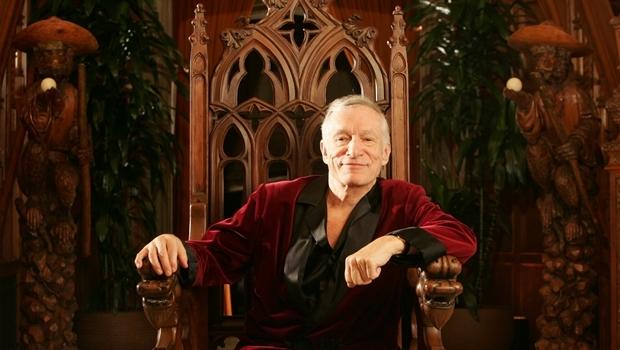 O criador da Playboy, aos 89 anos, Hugh Hefner   Foto: ABC