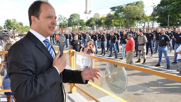 Secretário Joaquim Mesquita quando ainda era titular da Segurança Pública | Foto: Eduardo Ferreira