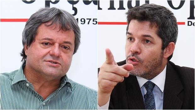 Jayme Rincón e Delegado Waldir são fortes pré-candidatos pelo PSDB | Fotos: Fernando Leite