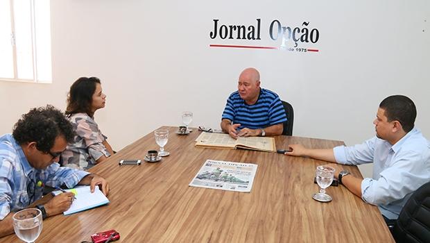 """Marco Antônio da Silva Lemos: """"OJornal Opção nunca teve essa preocupação de persuadir, nunca quis vender gato por lebre, não saía 'criando' coisas""""   Fernando Leite/Jornal Opção"""
