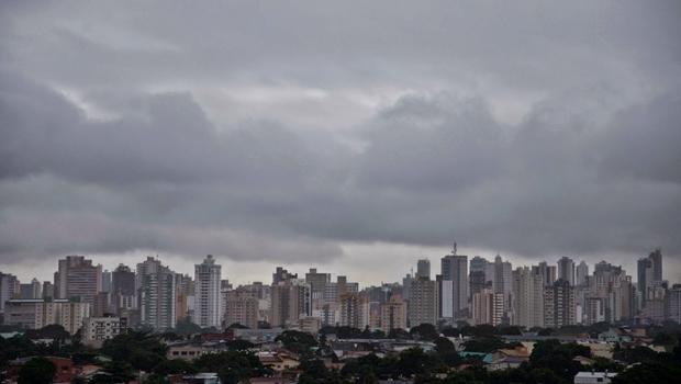 Fim de semana será de tempo nublado em Goiânia