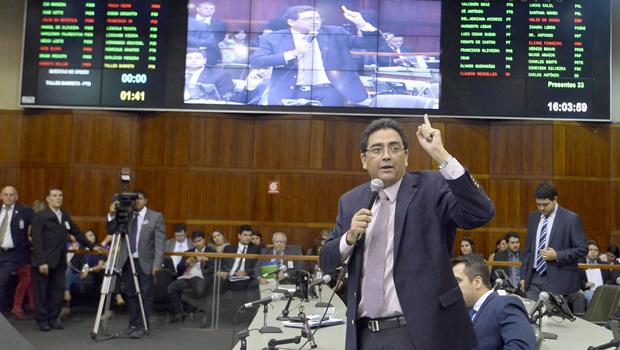 """""""Aprovação do Orçamento Impositivo provará que Legislativo goiano é independente"""", diz Talles Barreto"""