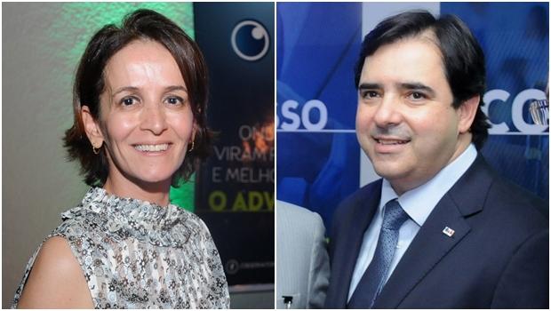 Tatiana Aires auxiliou Buonaduce na criação da proposta | Fotos: Renan Accioly / Jornal Opção