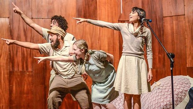 Grupo teatral Terreiro da Infância se apresenta nos dias 15 e 16 | Foto: Layza Vascconelos/Divulgação