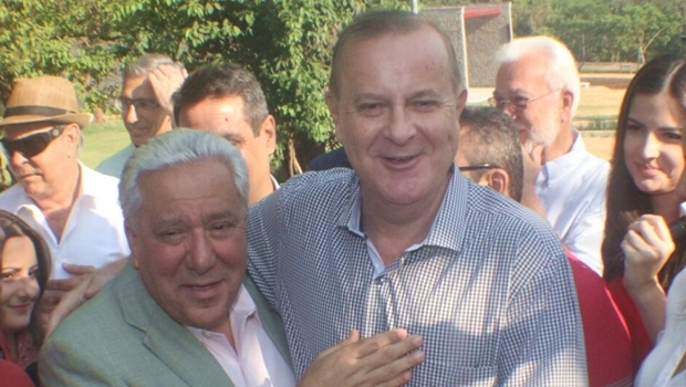 Vilmar Rocha e o prefeito Paulo Garcia: parceria entre Estado e prefeitura | Foto: Humberto Silva