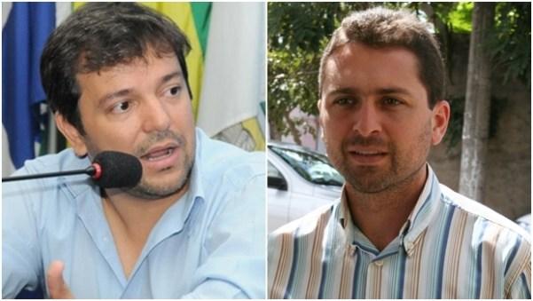 Vinicius Luz e Leandro Viela   Fotos: reprodução /Facebook ; Edilson Plikano