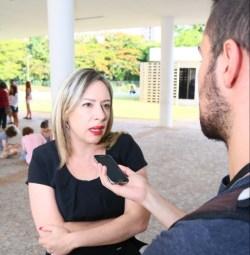 Deputada Adriana Accorsi criticou o presidente da Câmara, em entrevista | Foto: Fernando Leite