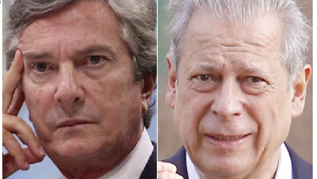 Fernando Collor: impeachment. José Dirceu de Oliveira: prisão