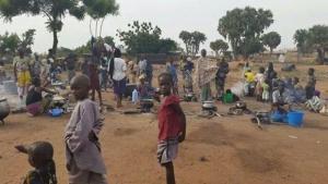 Refugiados nigerianos, expulsos de suas casas pela violência dos extremistas do Boko Haram: nada mais que estatísticas