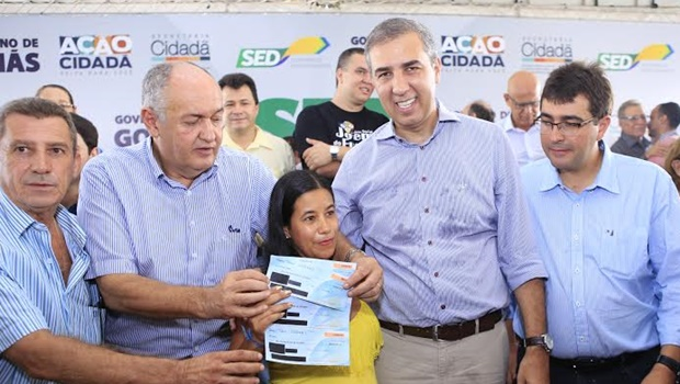 José Eliton participa do lançamento do SED Adiante em Quirinópolis